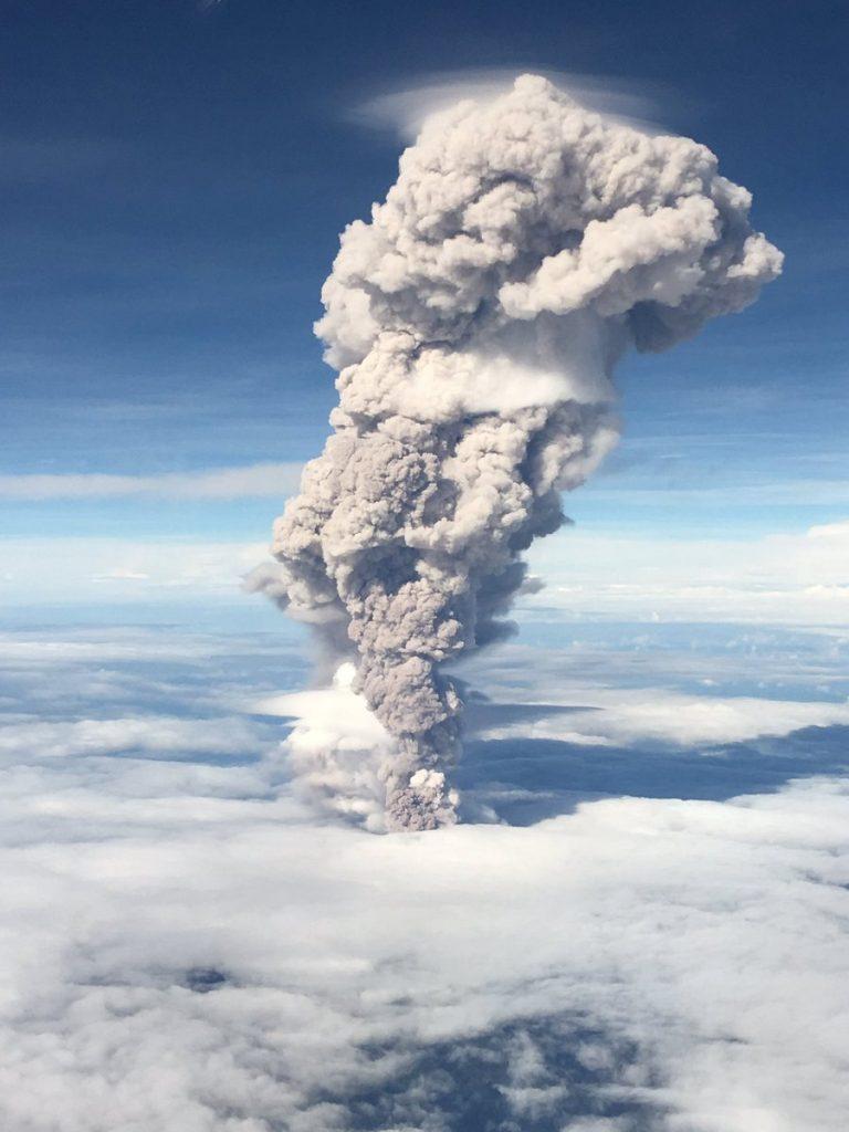 Messico: potente del eruzione Popocatépetl
